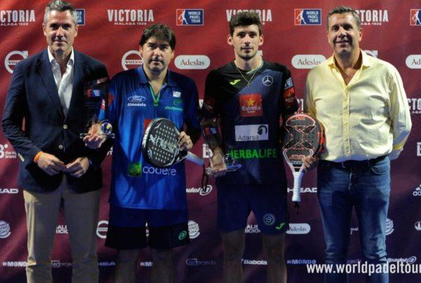 Cristian Gutiérrez y Franco Stupaczuk vencedores del Mijas Open World Padel Tour
